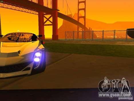 Bertone Mantide for GTA San Andreas wheels