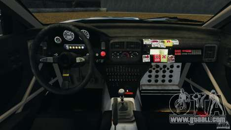 Subaru Impreza WRX STI 1995 Rally version for GTA 4 back view