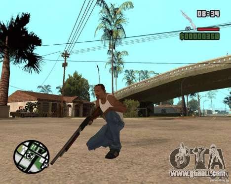 Chromegun HD for GTA San Andreas second screenshot