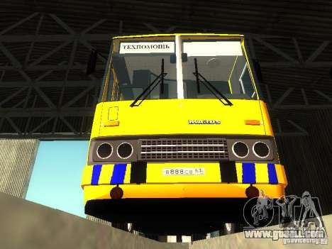 Technical Ikarus 280 for GTA San Andreas back view