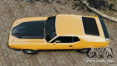 Ford Mustang Mach 1 1973 for GTA 4 right view