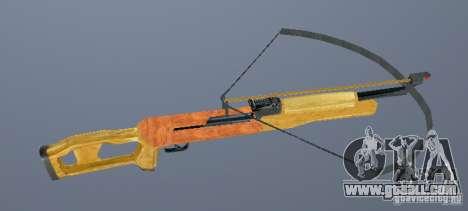 Crossbow for GTA San Andreas