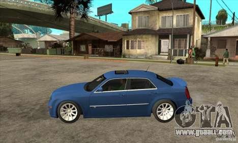 Chrysler 300C SRT 8 2008 for GTA San Andreas left view