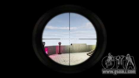 Barrett 98B (sniper) for GTA 4 forth screenshot