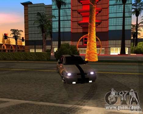 VAZ 2110 for GTA San Andreas upper view
