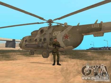 Soviet Commando for GTA San Andreas fifth screenshot