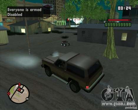 CJ-Mayor for GTA San Andreas