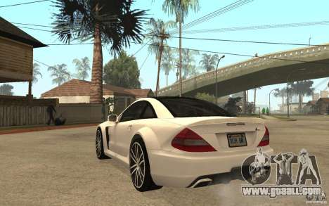 Mercedes-Benz SL65 AMG BS for GTA San Andreas back left view