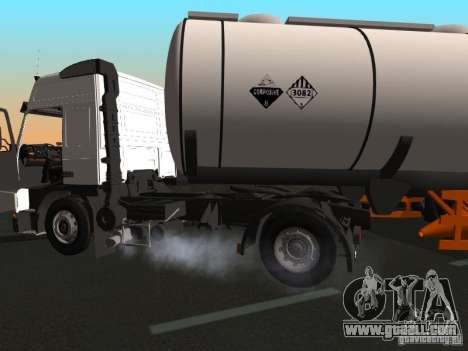 Volvo FM12 for GTA San Andreas back view