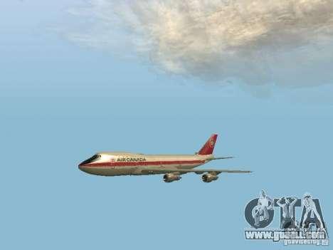Boeing 747 Air Canada for GTA San Andreas