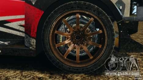 Colin McRae R4 Rallycross for GTA 4 back view