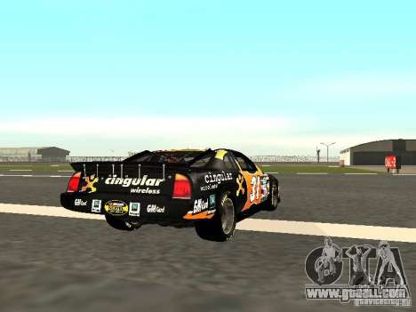 Chevrolet Monte Carlo Nascar CINGULAR Nr.31 for GTA San Andreas right view