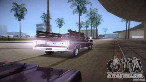 Ford F-100 1981 for GTA Vice City right view