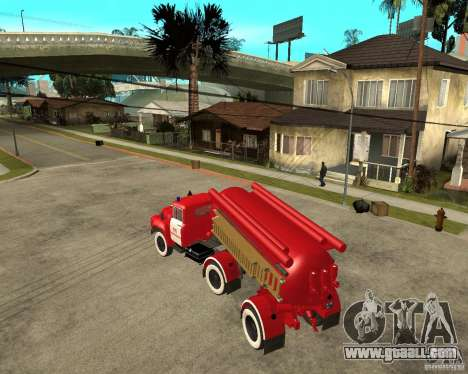 The AB-6 fire truck (130В1) for GTA San Andreas left view