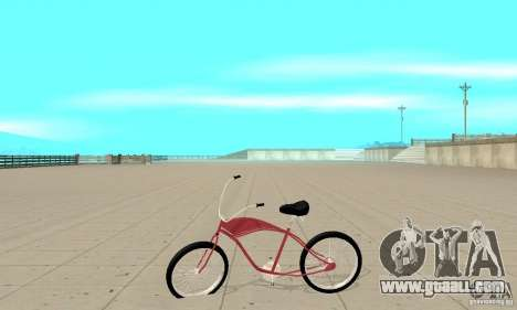 Classic Bike for GTA San Andreas left view