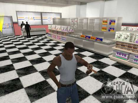 The ability to smoke for GTA San Andreas forth screenshot