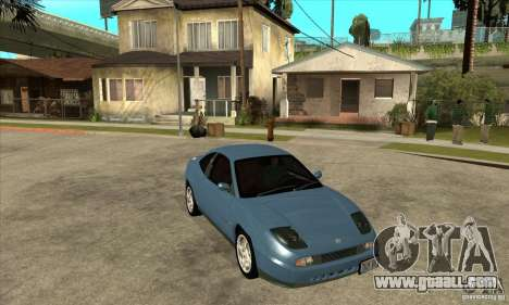 Fiat Coupe - Stock for GTA San Andreas back view