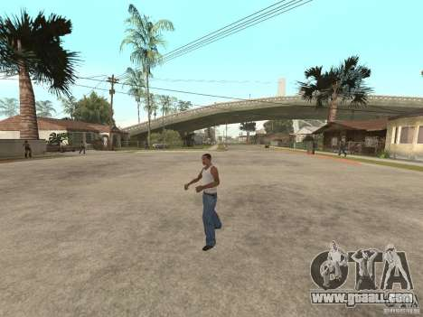 Awesome .IFP V3 for GTA San Andreas seventh screenshot