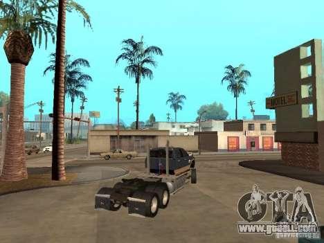 Dodge Ram for GTA San Andreas inner view