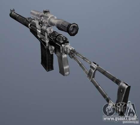 As Val Assault Rifle for GTA San Andreas fifth screenshot