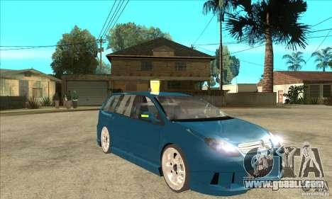 Citroen C5 Break for GTA San Andreas back view