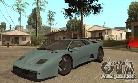 Lamborghini Diablo GT-R for GTA San Andreas