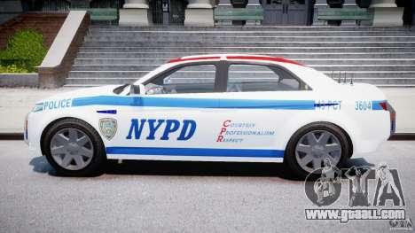 Carbon Motors E7 Concept Interceptor NYPD [ELS] for GTA 4 inner view