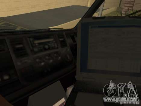London Ambulance for GTA San Andreas right view