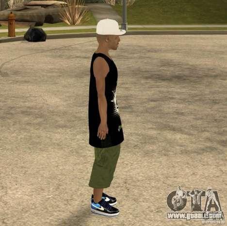 Cone Crew Skin for GTA San Andreas fifth screenshot