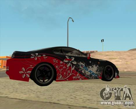 Toyota Supra by Cyborg ProductionS for GTA San Andreas left view