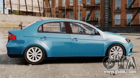 Volkswagen Voyage G6 2013 for GTA 4 left view