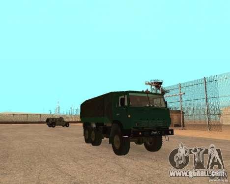 KAMAZ 4310 for GTA San Andreas back left view