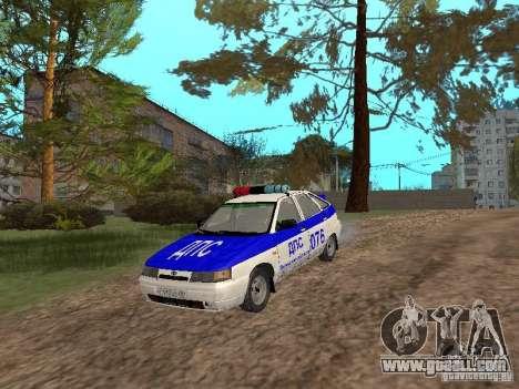 VAZ 21124 DPS for GTA San Andreas