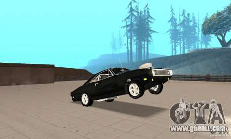 Dodge Charger RT 1970 The Fast & The Furious for GTA San Andreas side view