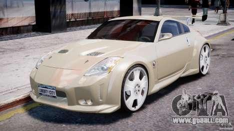 Nissan 350Z Veilside Tuning for GTA 4 left view