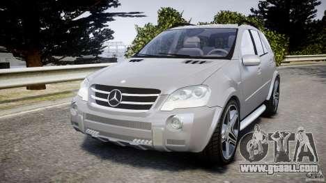 Mercedes-Benz ML63 AMG v2.0 for GTA 4
