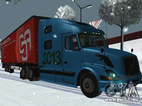 Volvo VNL 670 trailer for GTA San Andreas