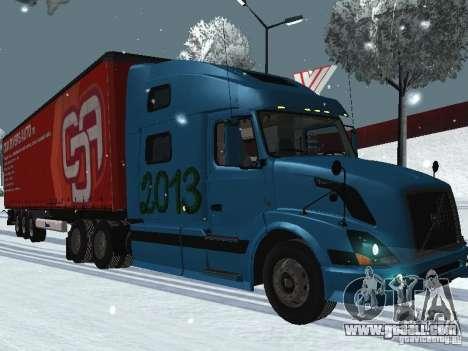 Volvo VNL 670 trailer for GTA San Andreas