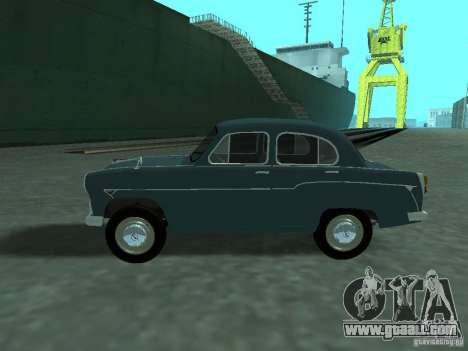 Moskvich 407 for GTA San Andreas left view
