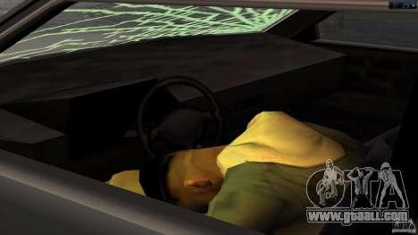 Death in the car for GTA San Andreas third screenshot