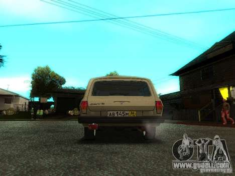 GAZ Volga 310221 Wagon for GTA San Andreas back view