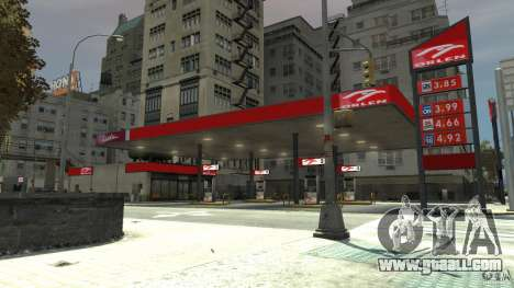 New gas station for GTA 4