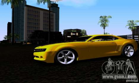 Chevrolet Camaro for GTA San Andreas right view