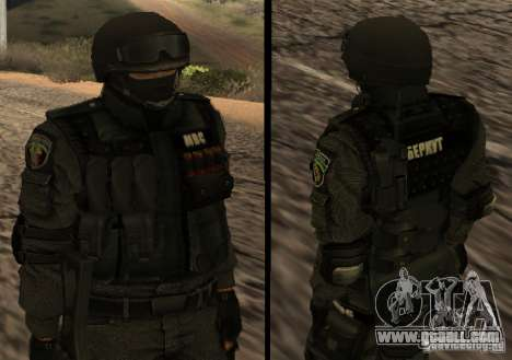 Ukraine Swat for GTA San Andreas