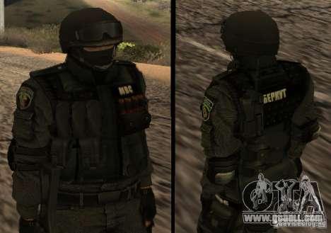Ukraine Swat for GTA San Andreas