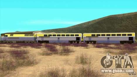 Latvian Train for GTA San Andreas left view