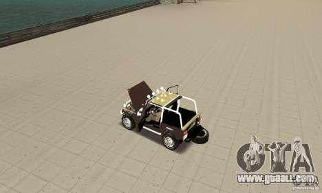 Jeep Wrangler 1986(2) for GTA San Andreas