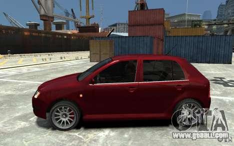 Skoda Fabia for GTA 4 left view