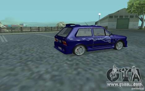 Yugo 45 Tuneable for GTA San Andreas back view