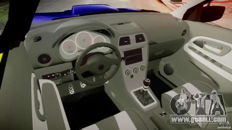 Subaru Impreza WRX Police [ELS] for GTA 4 right view